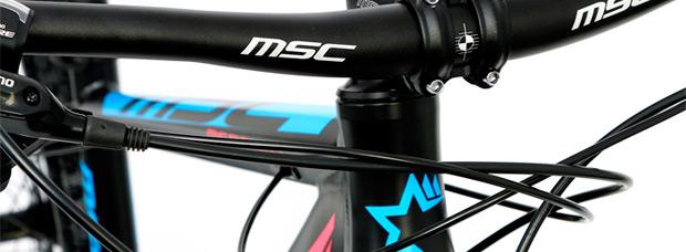 MSC Mercury ALU 2016, bicicletas de iniciación al XC a precios competitivos