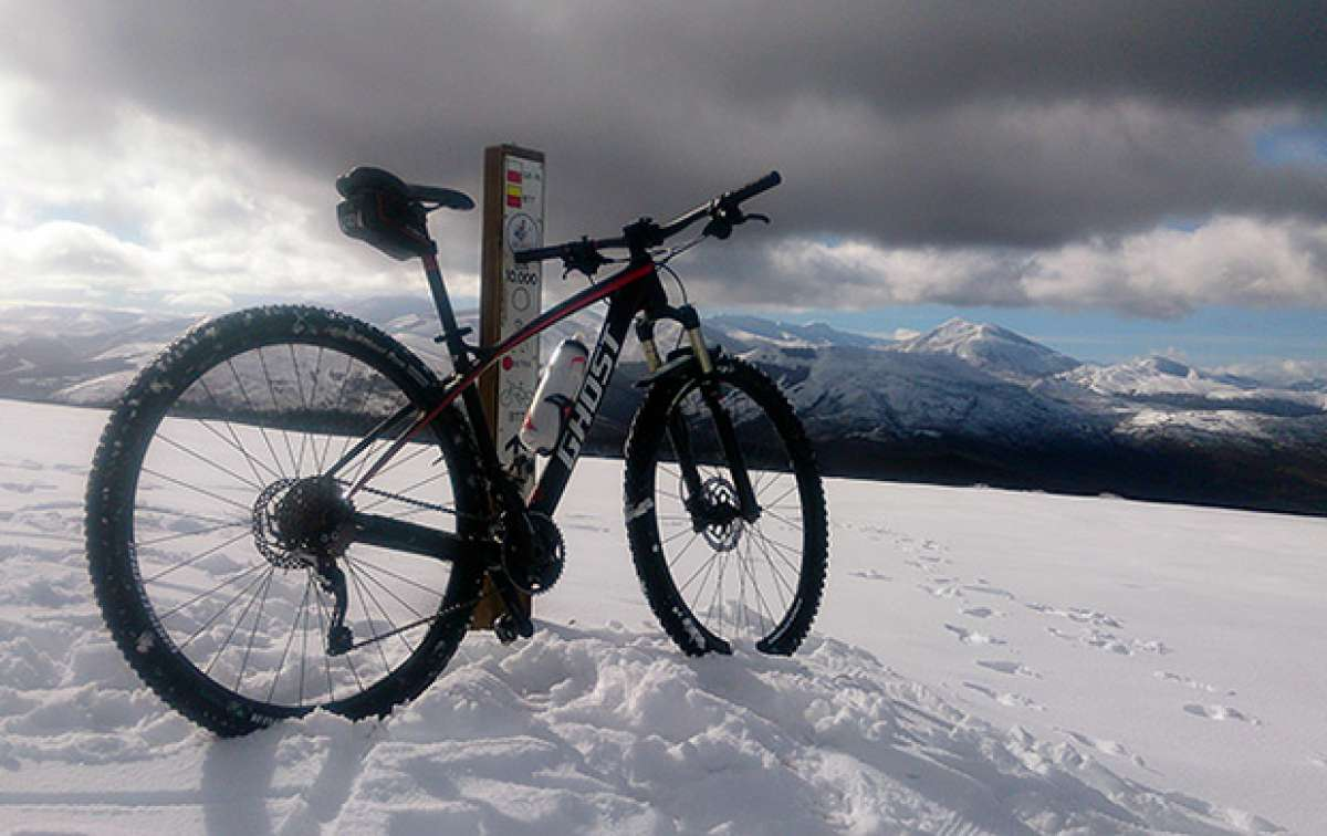 """La foto del día en TodoMountainBike: """"Nieve en Moral (Cantabria)"""""""