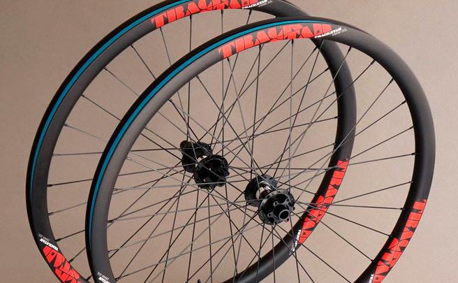 Nueva estética para las ruedas de carbono de Trackstar