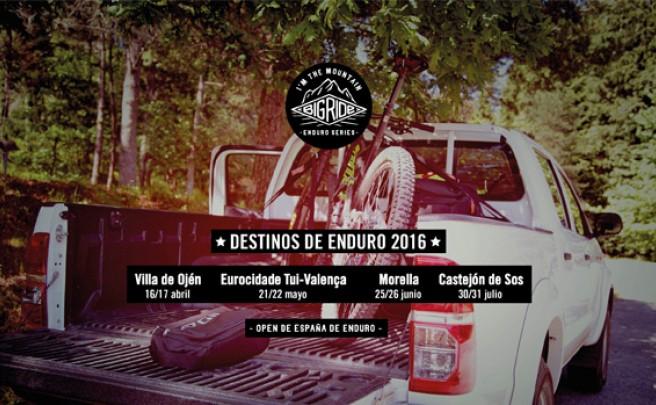 Nuevo patrocinador y nueva sede para el Open de España Big Ride Enduro Series 2016
