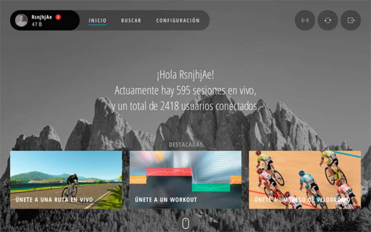 Nueva versión para el simulador de ciclismo de Bkool