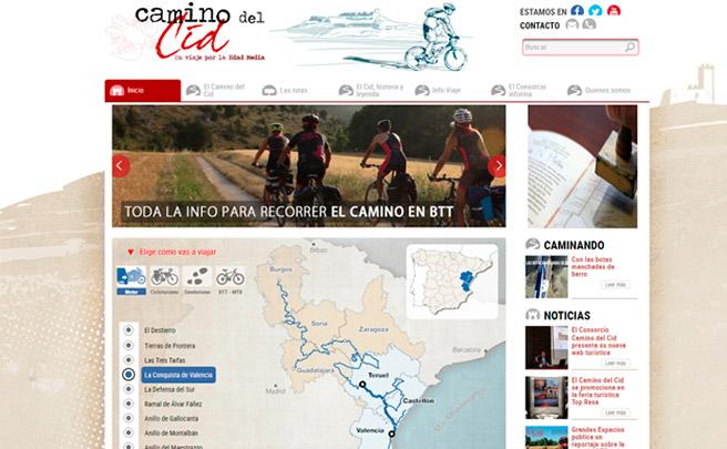 Toda la información sobre el Camino del Cid, en la nueva web del Consorcio