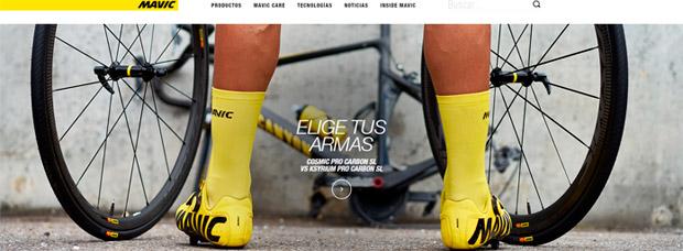 Renovación total y funciones mejoradas para el sitio web de Mavic