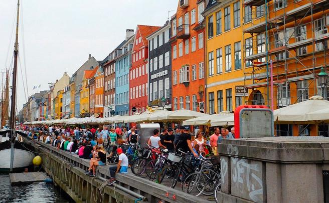 Por primera vez, más bicicletas que coches en las calles de Copenhague (Dinamarca)