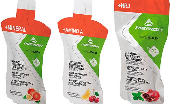 Merida M.O.R.E. Health, la nueva línea de nutrición del fabricante taiwanés