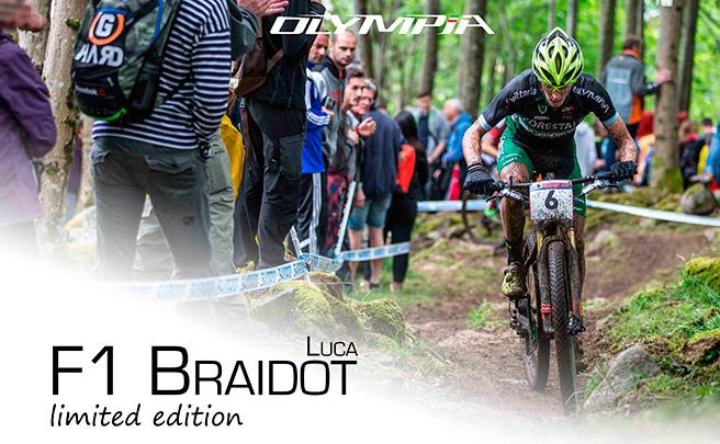Serie limitada de 100 unidades para la Olympia F1 réplica de Luca Braidot