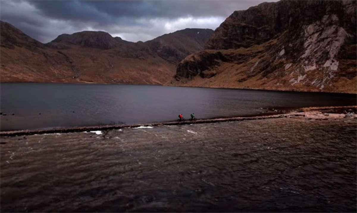 Cruzando Escocia de costa a costa con Matt Hunter, Thomas Vanderham y el nuevo grupo Shimano XT Di2
