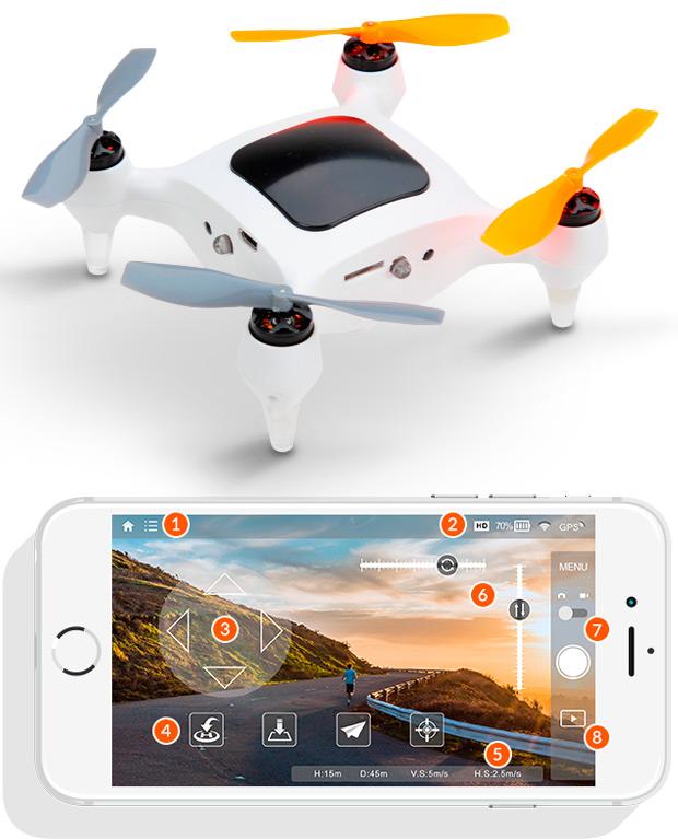 ONAGOfly, un diminuto dron con auto-seguimiento para grabar nuestras aventuras ciclistas