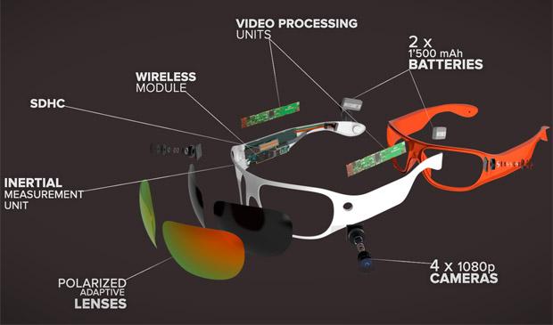 En TodoMountainBike: ORBI Prime, las primeras gafas deportivas que graban vídeo a 360º