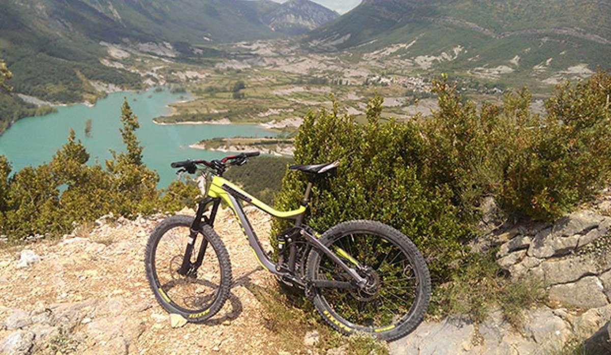 """La foto del día en TodoMountainBike: """"Pantano de Arguis (Huesca)"""""""