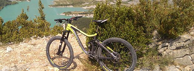 La foto del día en TodoMountainBike: 'Pantano de Arguis (Huesca)'