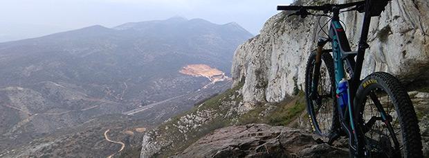 La foto del día en TodoMountainBike: 'Paraje Natural de la Cova Alta'