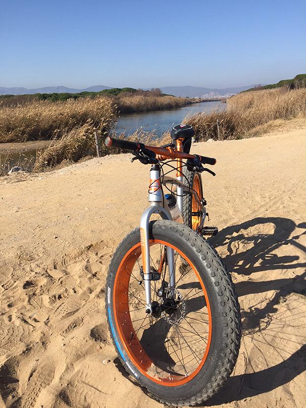 La foto del día en TodoMountainBike: 'En el delta del Llobregat'