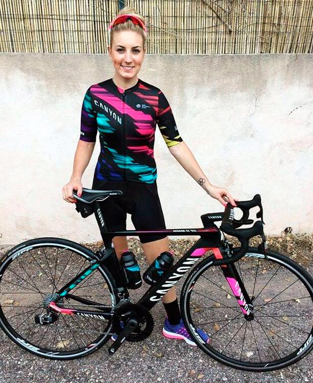 Pauline Ferrand-Prévot, al equipo Canyon//SRAM Racing de carretera durante las próximas cuatro temporadas