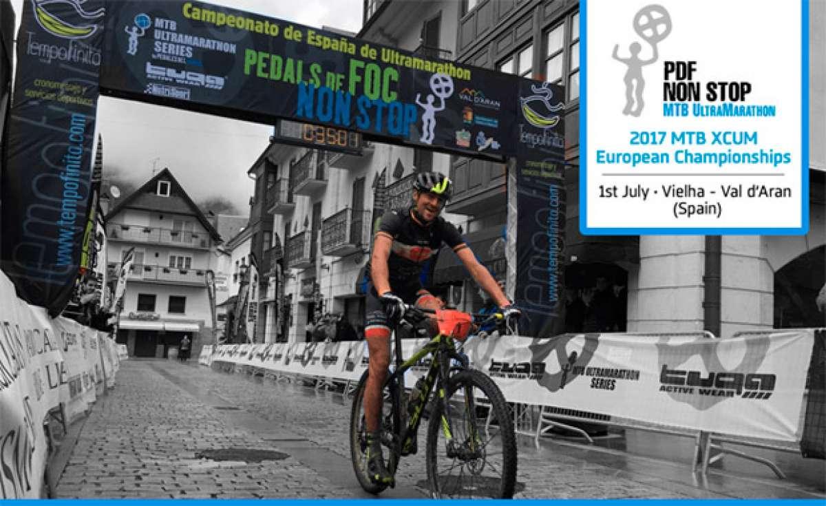 En TodoMountainBike: La Pedals de Foc Non Stop 2017, sede del primer campeonato de Europa de MTB Ultramarathon