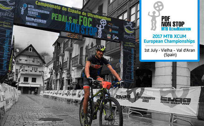 La Pedals de Foc Non Stop 2017, sede del primer campeonato de Europa de MTB Ultramarathon