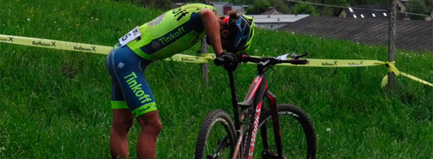 Amargo retorno de Peter Sagan al Mountain Bike