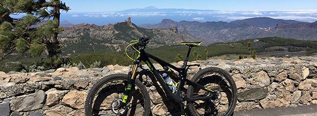 La foto del día en TodoMountainBike: 'Desde el mirador del Pico de las Nieves'