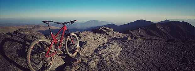La foto del día en TodoMountainBike: 'Pico del Veleta'