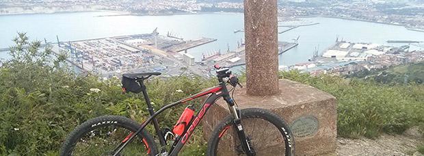 La foto del día en TodoMountainBike: 'Alto del pico Serantes en Santurtzi'