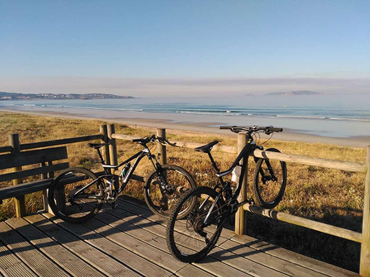La foto del día en TodoMountainBike: 'Playa de La Lanzada'