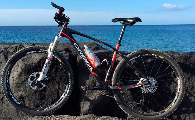 La foto del día en TodoMountainBike: 'Amanecer en Lanzarote'