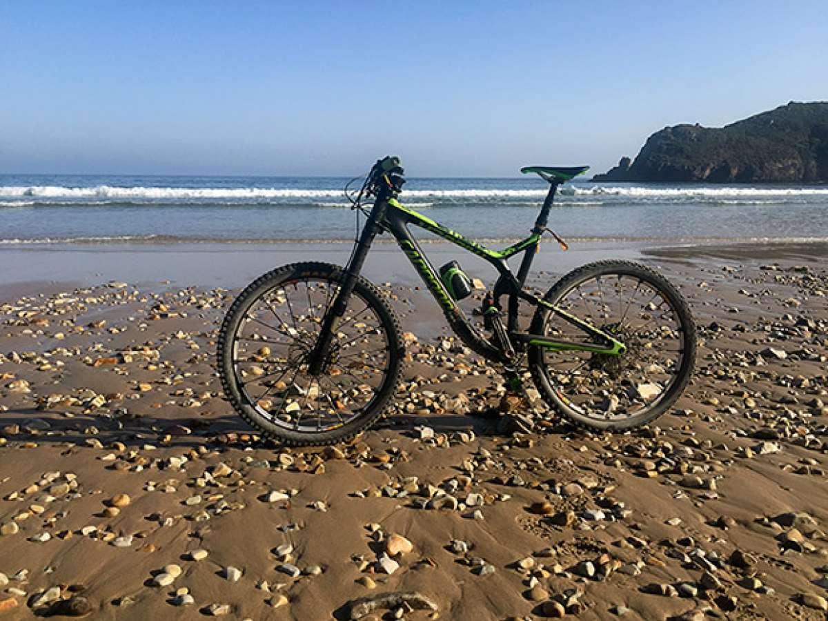 """La foto del día en TodoMountainBike: """"Playa de Torimbia (Asturias)"""""""