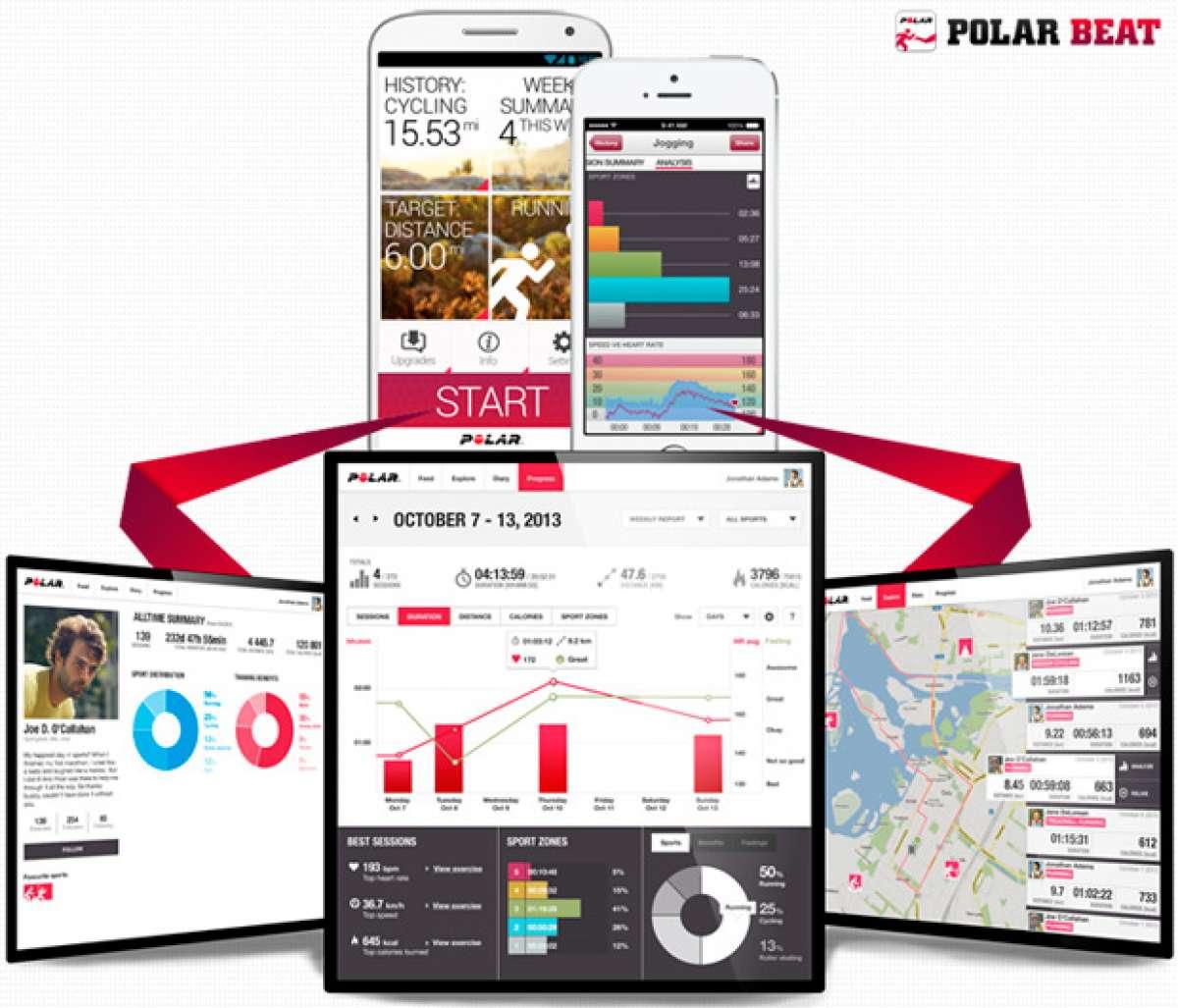 Nueva versión para la aplicación móvil Polar Beat