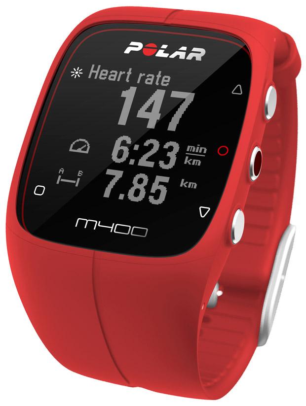 El reloj deportivo Polar M400, ahora en color rojo