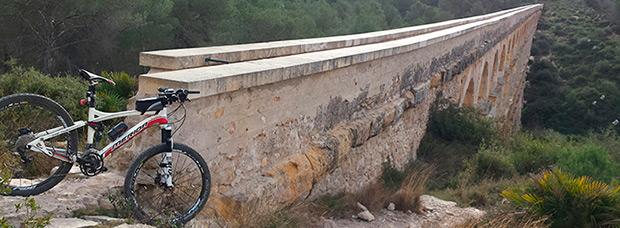 La foto del día en TodoMountainBike: 'Pont del Diable de Tarragona'