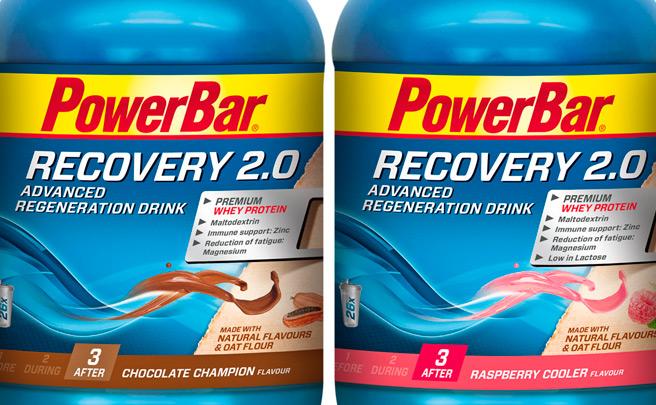 PowerBar Recovery 2.0, nueva fórmula para la bebida de recuperación de la firma