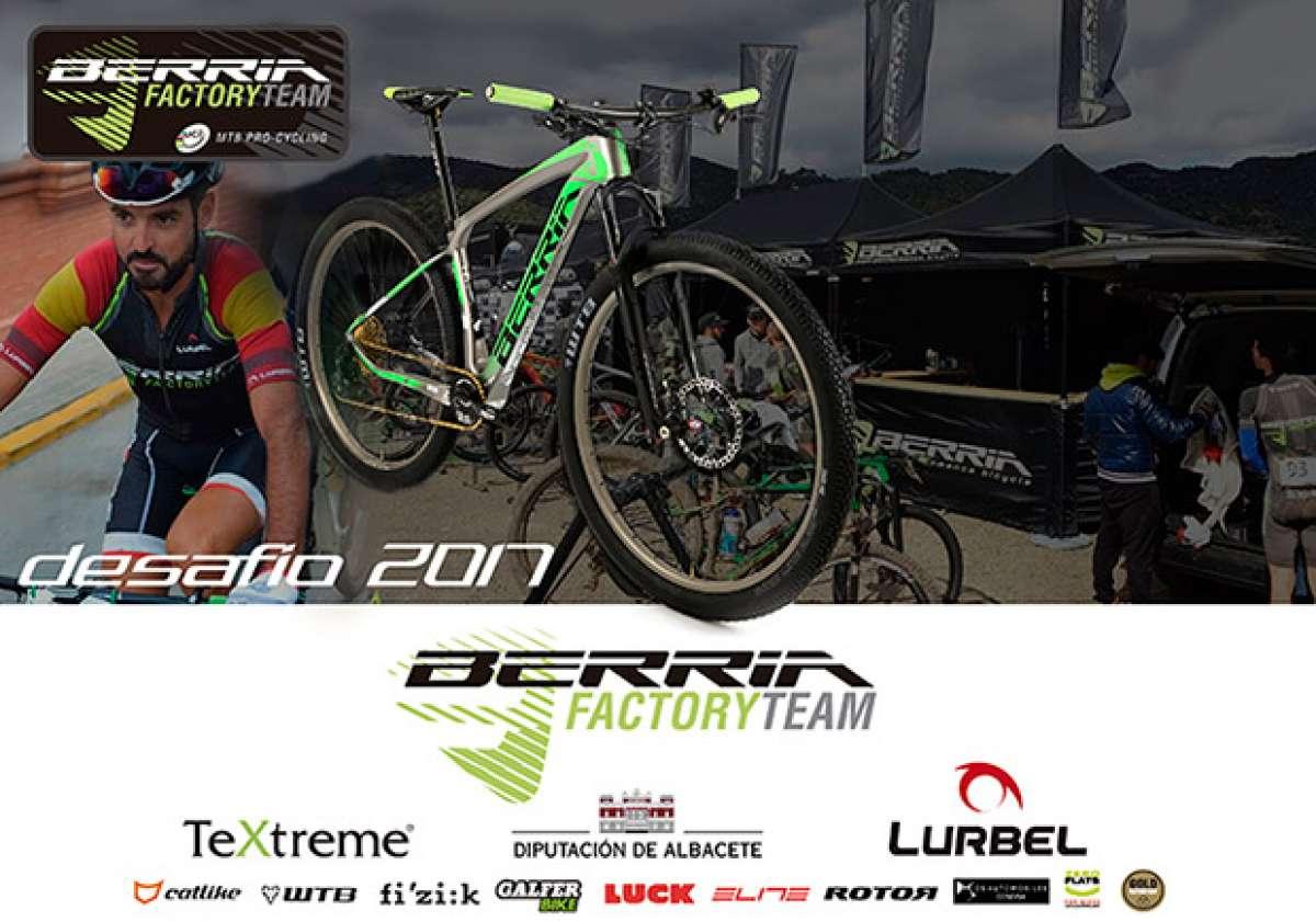 Presentación de los integrantes del Berria Factory Team 2017
