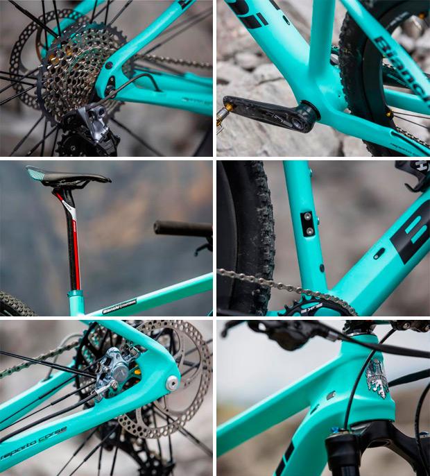 Bianchi Methanol CV, la primera bicicleta XC con cuadro de carbono antivibraciones