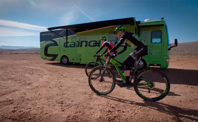 Presentación del Cannondale/360fly powered by Sugoi XC Team