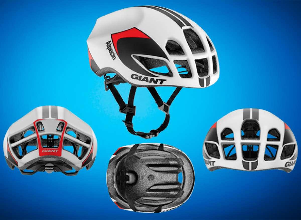 El nuevo casco Giant Pursuit, al detalle