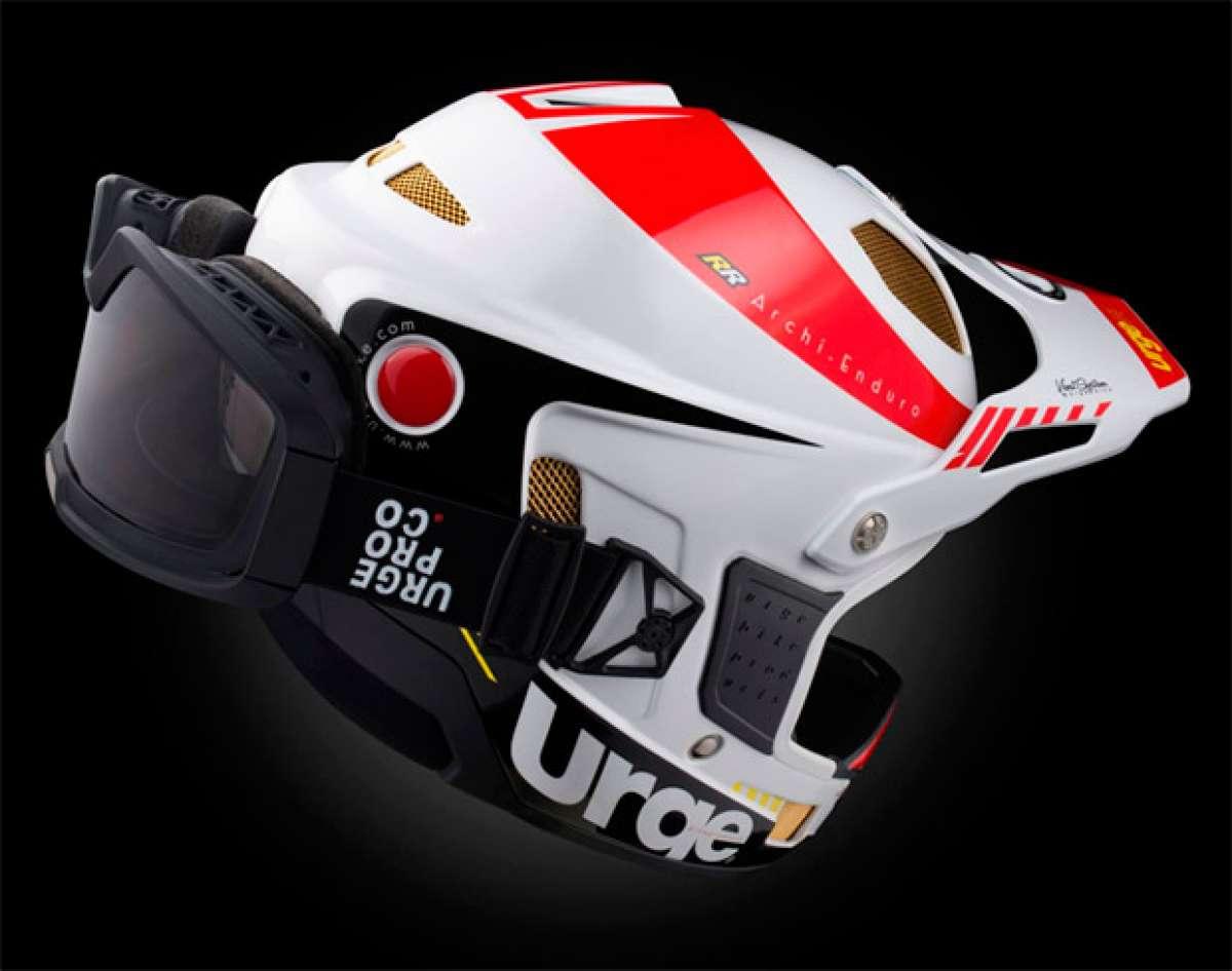 Urge BP Archi Enduro RR +, un casco para Enduro con gafas de máscara integradas