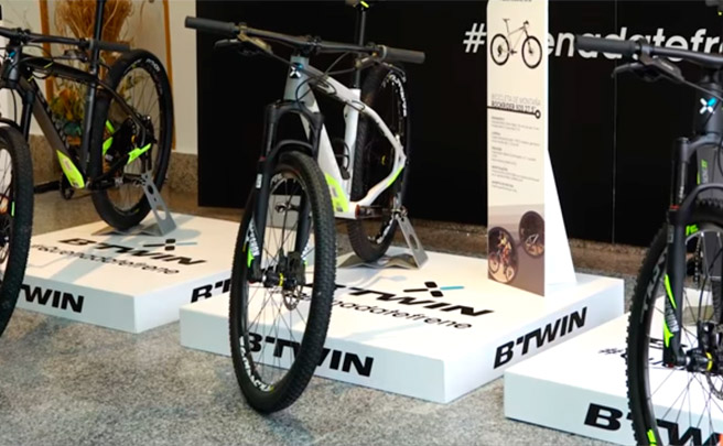 Presentación de la nueva gama de bicicletas y accesorios B'Twin de 2017