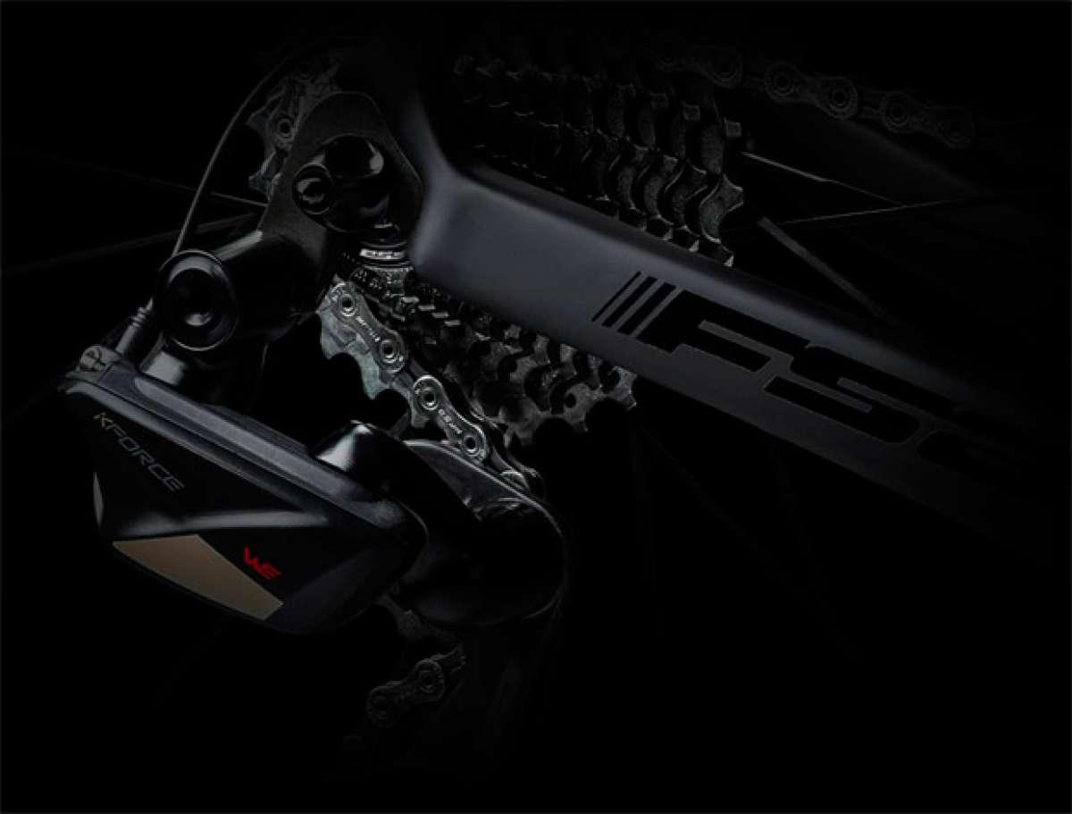 Así es la nueva transmisión electrónica e inalámbrica FSA K-Force WE