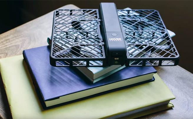 Hover Camera, el primer dron plegable del mercado ya está aquí