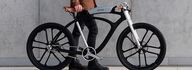 Noordung Angel Edition, una exclusiva bicicleta eléctrica de diseño con altavoz integrado