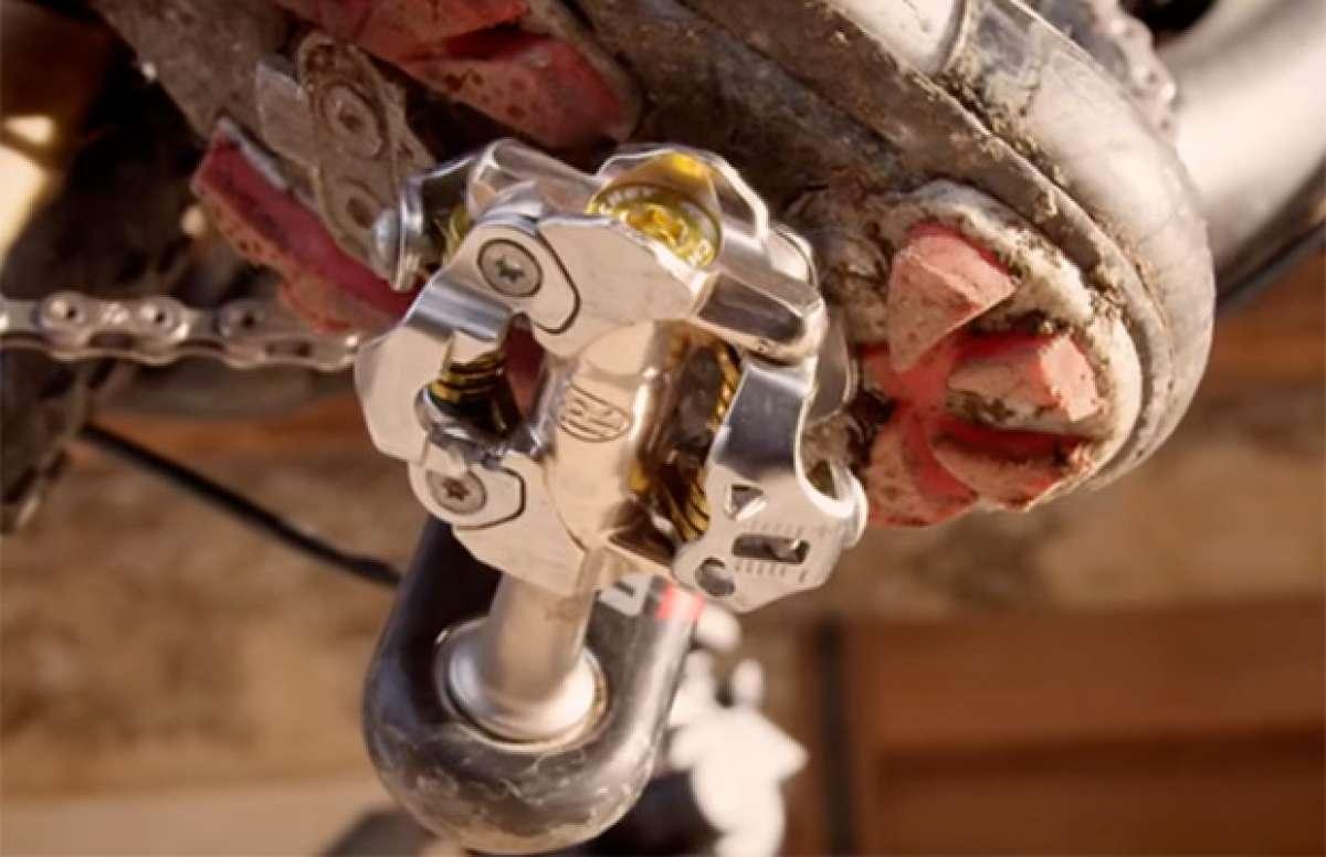 Los nuevos pedales Ritchey WCS XC... con Nino Schurter