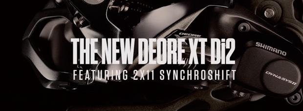 Anuncio promocional del nuevo grupo Shimano XT Di2
