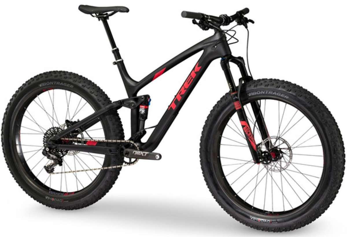 Trek Farley EX, una 'Fat Bike' de doble suspensión dispuesta a todo