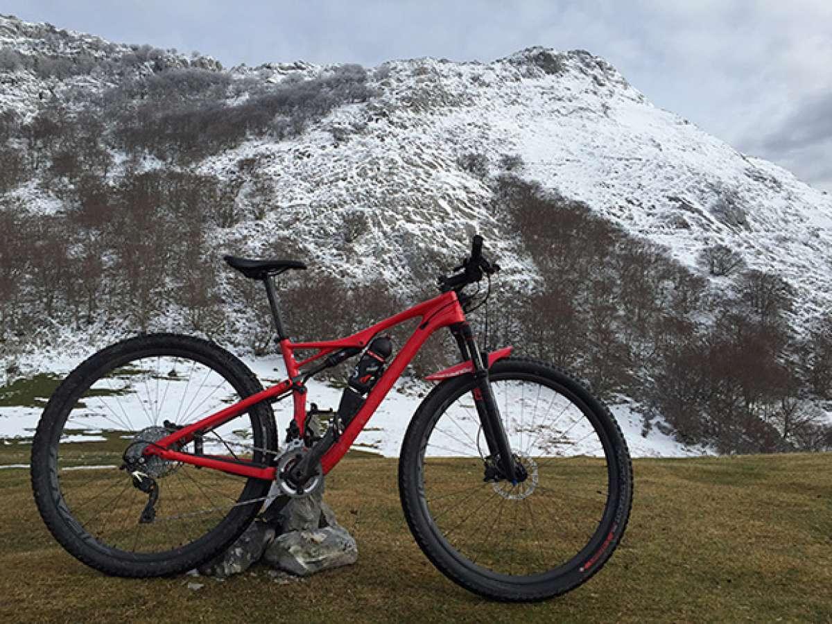 La foto del día en TodoMountainBike: 'Primera nevada en Anboto'