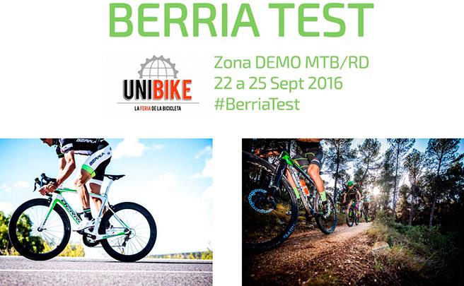 Las nuevas bicicletas de Berria Bike, a prueba en la próxima edición de Unibike