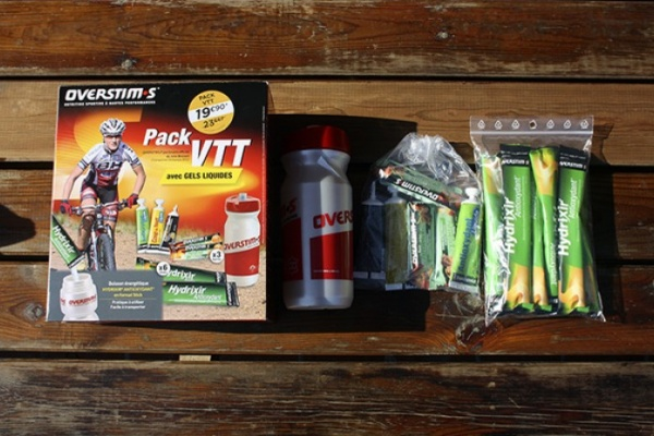 A prueba: Pack de nutrición para ciclistas OVERSTIM.s BTT
