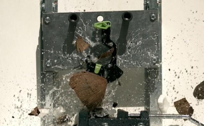 Así de resistente es el nuevo guiacadena con protector de plato de OneUp Components