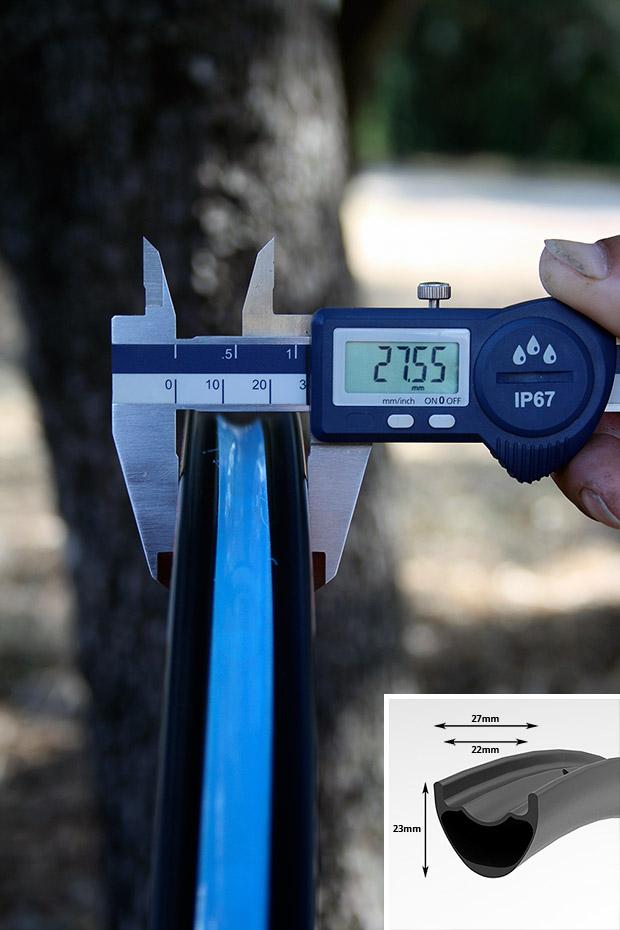 A prueba: Ruedas de carbono Trackstar 29 XC-27L
