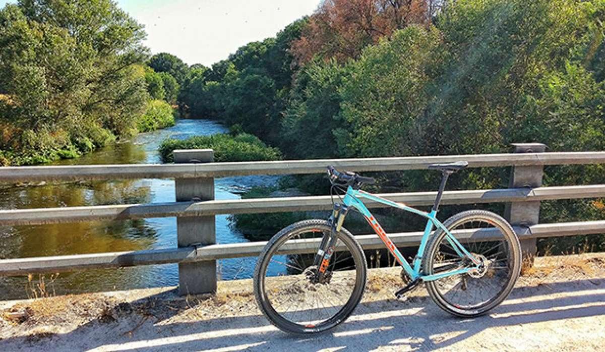 En TodoMountainBike: La foto del día en TodoMountainBike: 'Puente sobre el Manzanares'