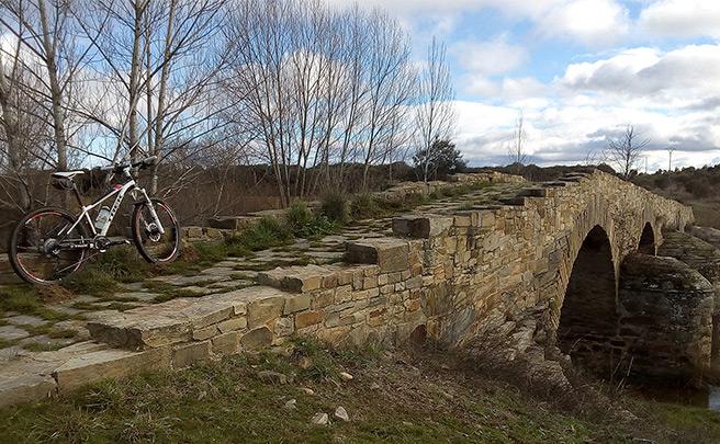 La foto del día en TodoMountainBike: 'Por la Vía de la Plata'